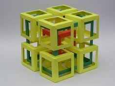 Ten Interlocking Cubes   Flickr - Photo Sharing!