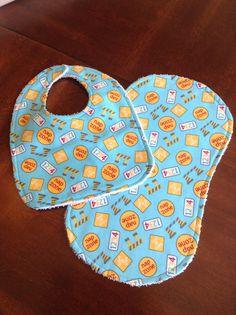 Nap Zone Construction print Baby burp cloth by DazzlingCinsations, $12.00