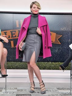 Four hot leather looks for fall