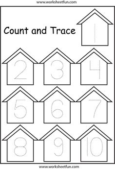 Number Tracing 1-10