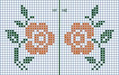 This post was discovered by He Cross Stitch Alphabet Patterns, Cross Stitch Borders, Cross Stitch Rose, Cross Stitch Flowers, Cross Stitch Designs, Cross Stitching, Cross Stitch Embroidery, Knitted Mittens Pattern, Tapestry Crochet Patterns