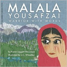 Malala Yousafzai: Warrior with Words - Review #ReadYourWorld | The LogonautsBook review and classroom poetry activity to accompany this Malala picture book.