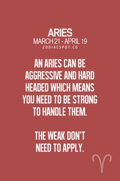 aries man horoscope weakness