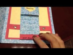 Finally! A tutorial for a SIX panel waterfall card.