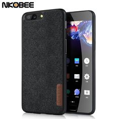 188f448435b NKOBEE OnePlus 5T Case Original Cotton Cloth Phone One Plus 5T Case Cover  Silicone TPU Soft Back Case Oneplus 5 Cover Coque -in Fitted Cases from  Cellphones ...