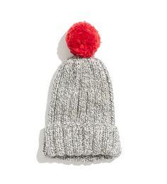 Ali's Pick: Wool and the Gang pom-pom hat.  I love a good Pom Pom.