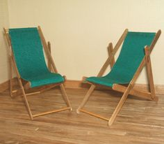 how to: deck chairs