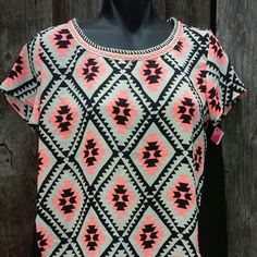 Just In!! Aztek Flowy Blouse Size Small Excellent condition. Never worn. Xhilaration Tops Blouses