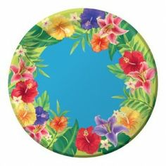 """HIBISCUS HEAT-LUNCH. PLATE 7"""" 25/PK"""