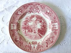 Vintage 1930's Wedgwood West Point Military Dinner Plate