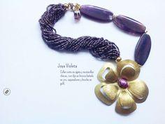 Collar Joya Violeta - Created on Tactilize