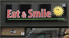 Eat and smile