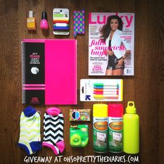 Enter the Neon giveaway on our blog! Click for more details! #ohsoprettyneon