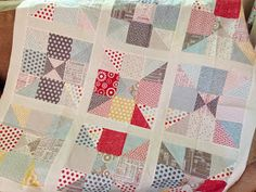 Quilting Tutorials and Fabric Creations | Quilting In The Rain: Home Sweet Home Quilt Tutorial