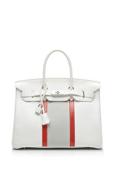 86af1def879c Hermes 35Cm White Clemence Club Birkin by Heritage Auctions Special  Collection for Preorder on Moda Operandi