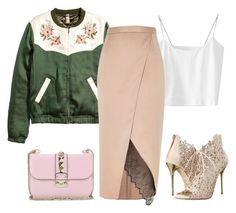 """""""1 bag 100 sets. 9/100"""" by lillyrosalie ❤ liked on Polyvore featuring River Island, Oscar de la Renta and Valentino"""