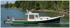 """Holland 32. Now that is a lobster yacht! I would name it the """"Lily Paige"""". It would be good if there was one """"L"""" too."""
