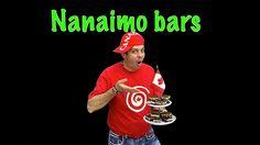 Amazing NANAIMO BAR recipe-- gluten free, no baking (with subtitles) Nanaimo Bars, Ronald Mcdonald, Canada, Baking, Recipe, Easy, Youtube, Bakken, Recipes