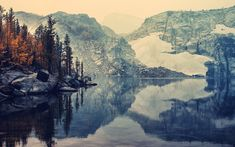 Not too far away! Enchantment Basin, Washington