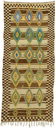 """Glaoui Carpet, 11'1"""" × 4'10"""""""
