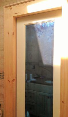 Mirrored Bathroom Pocket Door