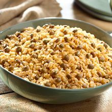 This Christmas experience the authentic flavors of the Dominican Republic with this Rice and Pigeon Peas with Coconut recipe (called Moro de Guandules con Coco in the Dominican Republic).