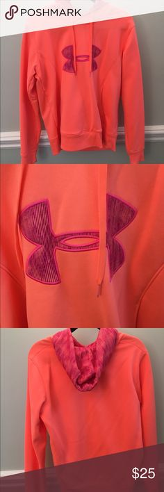 Underarmour women's semi fitted hoodie Never worn! Only tried on didn't fit! Under Armour Tops
