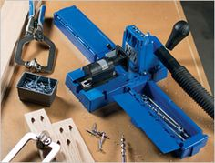 Introducing the all-new Kreg Jig® K5! The Kreg Jig® K5 incorporates the best features of every Kreg Jig® that came before, with upgrades you've never seen. Read more here: http://www.kregtool.com/Kreg-Jig-K5-Prodview.html