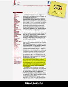 ::Portal Fator::  A indústria náutica preservando o meio ambiente  Acesse o link da matéria  http://www.revistafator.com.br/ver_noticia.php?not=207725
