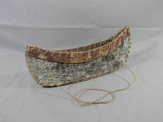 Vintage Birch Canoe 13 inch Rustic Decor Wall Hanging Tree Bark Hand Made by WesternKyRustic on Etsy