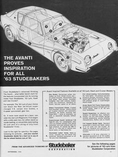 1963 StudebakerAvanti