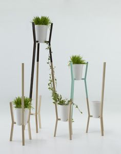 ROOTS, modular system for gardens by Alberto Sanchez, via Behance