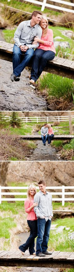 engagement photos #bridge