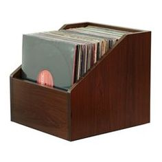Diy Lp Vinyl Record Storage Box With Wheels Do It