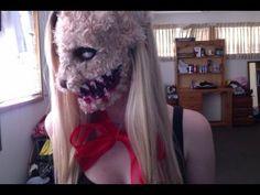 So creepy, but perfect for #Halloween! Evil Teddy Bear tutorial
