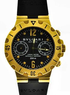 Bvlgari SC 38 G 18k Yellow Gold Automatic Watch   300watches   discount watches
