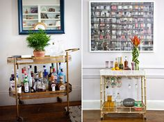 Dicas e inspirações para montar um mini bar em casa - Casinha Arrumada