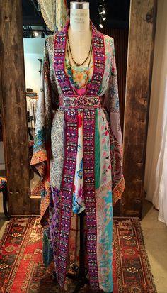 Silk Kimono Hand Made by Johnny Was