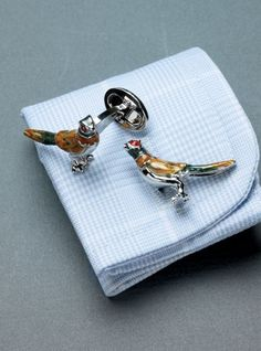 Ben Silver pheasant cuff links- John needs these
