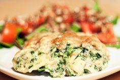 Pastinaken-Spinat-Gratin #Rezept (eigentlich lecker, aber nicht mein Fall)