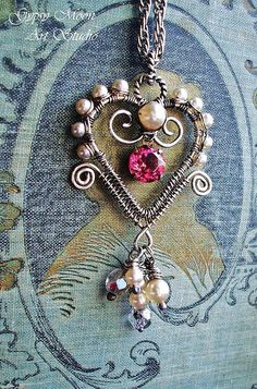 Hopeful Heart by Gypsy Moon Art Studio, via Flickr