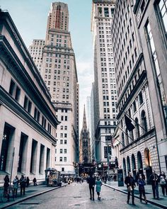 Wallstreet Historic District NYC