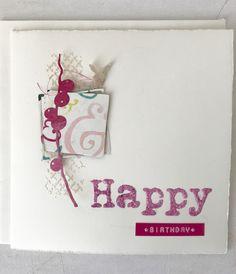 Papier-Liebelei: Pink Birthday