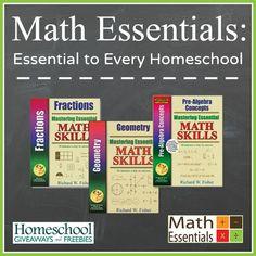 Math Essentials: Essential to Every Homeschool