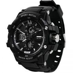 Men's Watches Sporting Reloj Hombre Spovan Men Sport Watch Waterproof Led Compass Altimeter Pedometer Digital Wrist Watch Clock Saat Relogio Masculino Fashionable Patterns Digital Watches