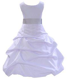 Wedding Pageant Floor Length Flower Girl Dress 806s1 2 ekidsbridal http://www.amazon.com/dp/B00P9VHSAU/ref=cm_sw_r_pi_dp_XfcTub0NHMRF7