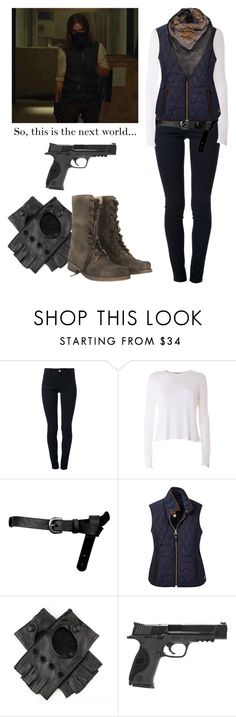 """""""Jesus 6x12 - the walking dead / twd"""" by shadyannon ❤ liked on Polyvore featuring STELLA McCARTNEY, T By Alexander Wang, ASOS, Joules, Smith & Wesson and Avant Toi"""
