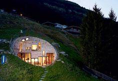 Villa Vals i Schweiz