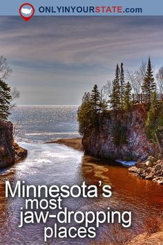 Travel | Minnesota | Attractions | USA | Places To Visit | Bucket List | Destinations | Things To Do | Day Trips | Outdoor | Nature | Beautiful Places | Adventure | Natural Wonders | State Parks | Waterfalls | Great Lakes | Lake Superior | Cliffs | Cities | Waterfront | Lighthouse | Scenic Drive | Gardens | Beaches