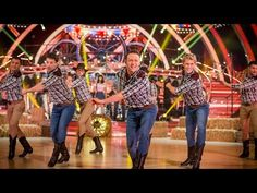 Strictly Pros Dance to 'Cotton Eyed Joe / Timber' medley - Strictly Come Dancing 2014 - BBC One - YouTube